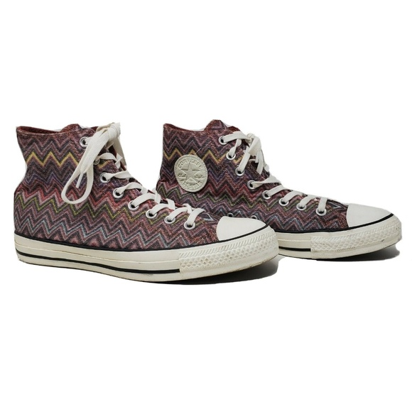 CONVERSE ALL STAR CHUCK TAYLOR MISSONI HIGH TOP